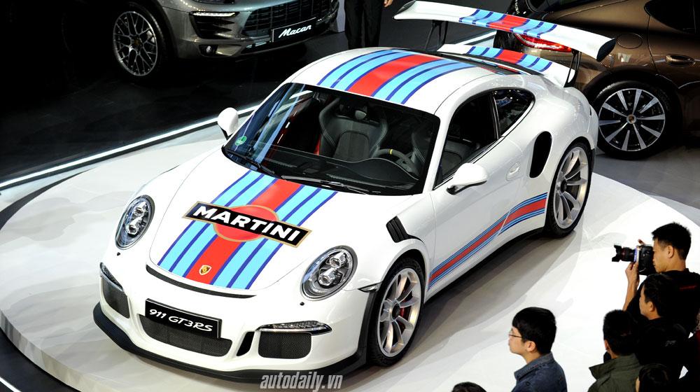 """Porsche 911 GT3 RS: """"Ngôi sao"""" sáng nhất triển lãm VIMS 2015"""