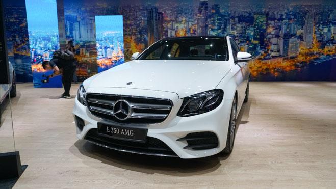 E-Class phiên bản nâng cấp được Mercedes-Benz Việt Nam ra mắt tại Việt Nam