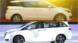 Kia Sedona và Honda Odyssey: Mở đầu cuộc đua phân khúc Minivan