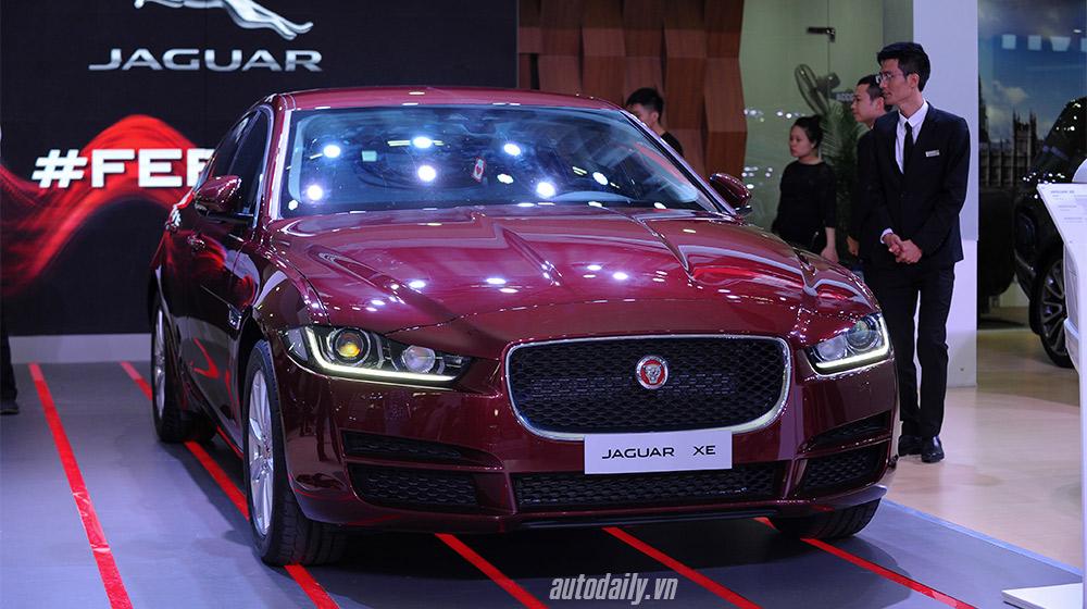 Jaguar XE 2016 chính thức ra mắt thị trường Việt