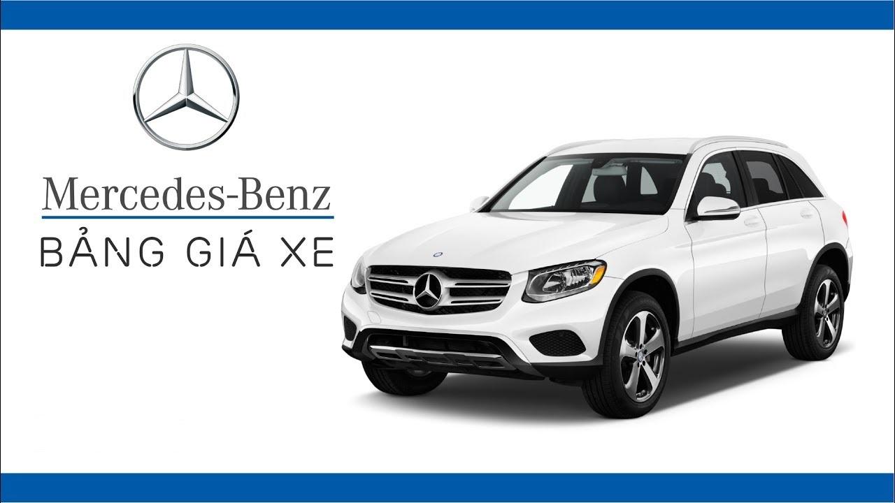 Bảng giá xe Mercedes Benz