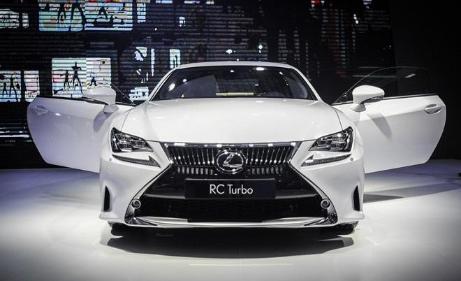 Bảng giá xe Lexus
