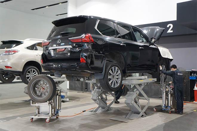 Chi phí bảo dưỡng xe Lexus - Tư vấn nuôi xe Lexus