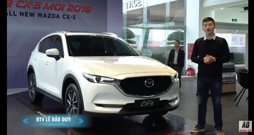 5 điểm nổi bật trên Mazda CX-5 2018 vừa ra mắt tại Việt Nam